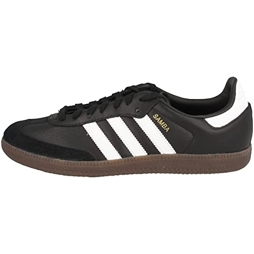 adidas Samba OG, Zapatillas Hombre, Negro (Core Black/Footwear White/gum5), 42 EU