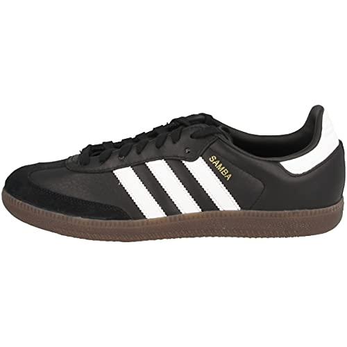 adidas Samba OG, Zapatillas Hombre, Negro (Core Black/Footwear White/gum5), 42 2/3 EU
