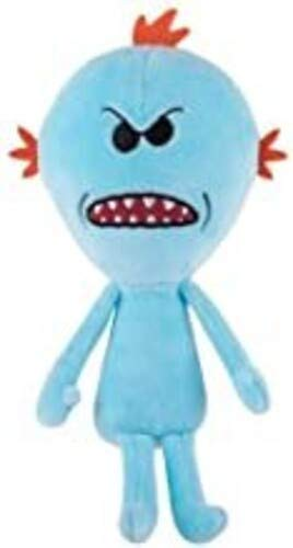 Funko Rick And Morty Galactic Plushies Meeseeks Figura de Peluche Enojada
