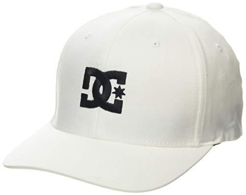 DC Shoes Cap Star 2 Gorra para Hombre Gorra para Hombre, Hombre, White/Black, S/M