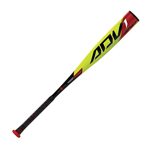 EASTON ADV1 360 -12 USA Youth Baseball Bat, 2 5/8 in Barrel, 29 in / 17 oz, 2021, 1 Piece Composite, Launch Comp 360 Barrel Design, Carbon Zero Vibration Handle, Power Boost, Lizard Skin Grip