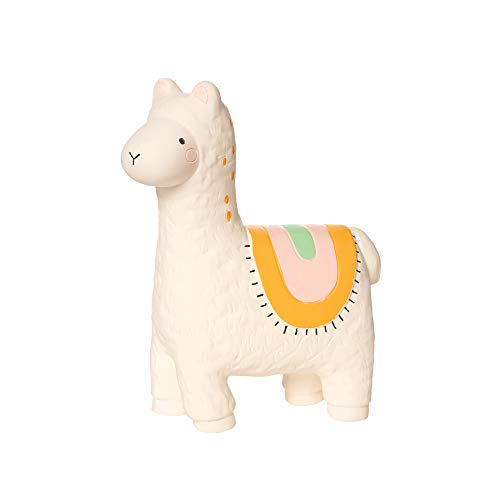 Manhattan Toy Fruity Paws Lili Llama 100% Natural Rubber Baby Teether Toy