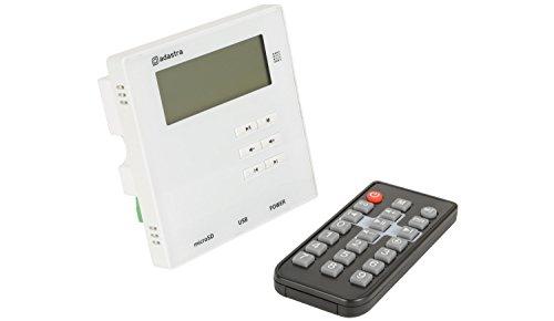 Wandversterker met USB/SD/FM en Bluetooth, 2 x 10 W