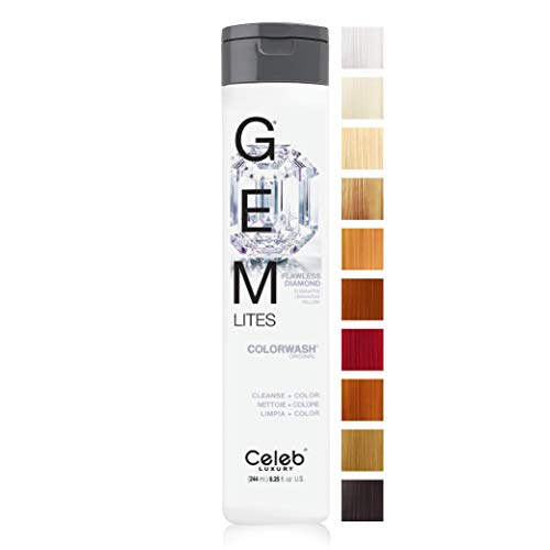 GEM LIGHTS COLORWASH SHAMPOO FLAWLESS DIAMOND by GEM LIGHTS