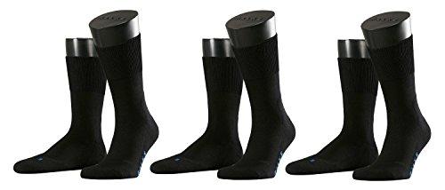 Falke Socken Run Ergo, Größe:46/48; Farbe:schwarz; Pack:3er Pack