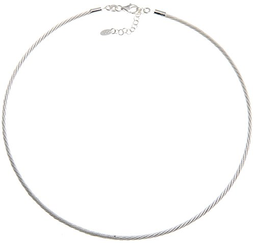 Fashion Omega Halsreif 2,2mm - Länge 40cm - echt 925 Silber