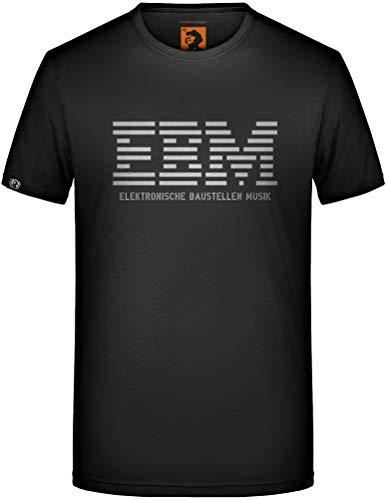Elektronische Baustellen Musik T-Shirt EBM Electronic Body Patenbrigade: Wolff Größe M