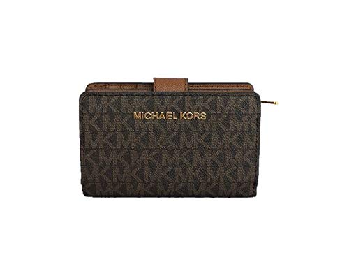 """Tab over with button closure. One zip around closure coin compartment. Six credit card slots and ID window with Full Length Bill Compartment. Size Measures approximately: 5.25"""" L x 3.25"""" H x 1.5"""" D."""