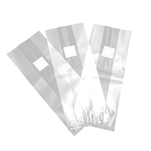 Aiyrchin Seta Bolsas/Bolsas de Cultivo de Setas/Granja-Mushroom freza Filtro Extra Grueso 8 milésimas de Pulgada Tamaño 19.6x9.84inch de sustrato Autoclave 10PCS