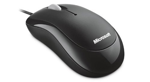 Microsoft Basic Optical Mouse für Business schwarz