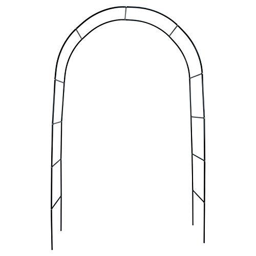 TITA-DONG Sorbus - 3 soportes para decoración de boda, metal al aire libre, arco de jardín, resistente, para plantas trepadoras, acero inoxidable, ligera y duradera pérgola