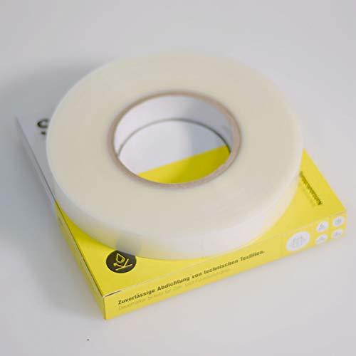 Nahtabdichtungsband, 10 m, 25 m oder 50 m, Extra Strong! Dicke: 0,20 mm, Clear, Seam Sealing Tape: zuverl. Abdichtung von Textilien mit hoher Belastung (Funktionsnähte). Übertrag durch Schmelzkleber.