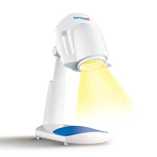 Bioptron 1 von Zepter die 7 in 1 Lichttherapie Infrarotlampe Wärmelampe gegen Akne Falten Licht bedeckt Gesicht wie eine Maske bekämpft Alterung der Haut wirksam und medizinisch nachweisbar