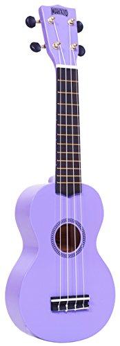 Mahalo Ukuleles MR1PP Rainbow Series Soprano Ukulele,Purple