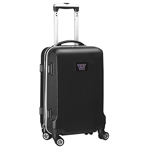 Great Features Of Denco NCAA Washington Huskies Carry-On Hardcase Luggage Spinner, Black