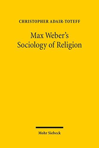 Couverture du livre Max Weber's Sociology of Religion (English Edition)
