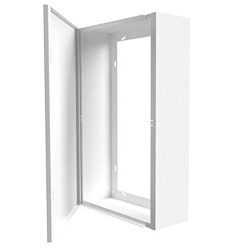 Coffret d'habillage tableau électrique Blanc - H. 540 x L. 340 x P. 140 mm - Existe aussi en noir (Taille 1)