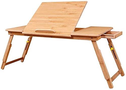 Dpliu Escritorio Creativo Escritorio Mesa de Laptop Simple Levantamiento pequeño Escritorio Mesa Perezosa Mesa extraíble Mesa de Aprendizaje Mesa Plegable Plana Plana (Size : M)