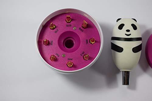 missfixx - Set di punte 'Panda-Style', colore: Rosa