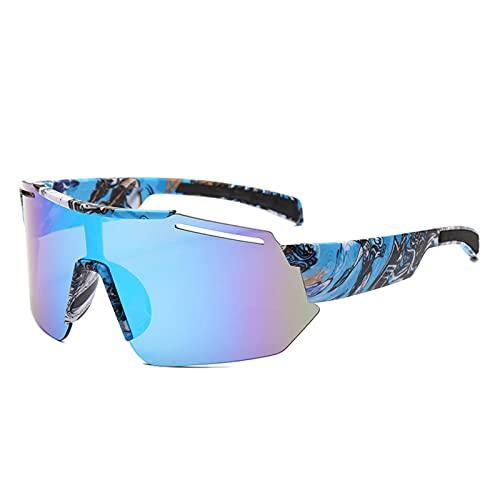 NZAUA Gafas de Ciclismo Gafas de Sol polarizadas Mujeres MTB MTB Deportes al Aire Libre A Prueba de Viento UV400 Eyewear, Bicicleta de montaña Motocicleta y Actividades de E
