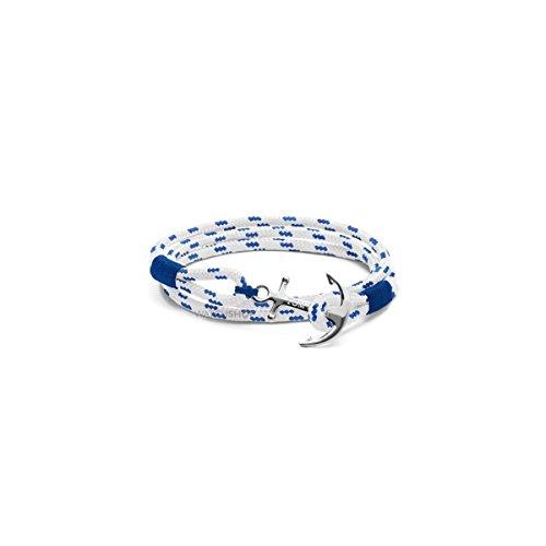 Tom Hope Unisex Armband Royal Blue 3 M Tm0162 – Silber – 3 mm Seil aus Polyester, stabilisiert gegen UV