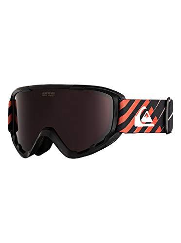 Quiksilver Herren Snowboard-/Skibrille SHERPA - Snowboard-/Skibrille für Männer, poinciana Gradientlineyth, 1SZ, EQYTG03084