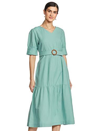 Amazon Brand – Eden & Ivy Women's Cotton Skater Midi Dress