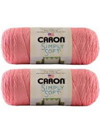 Bulk Buy: Caron Simply Soft Yarn Solids (2-Pack) (Strawberry)
