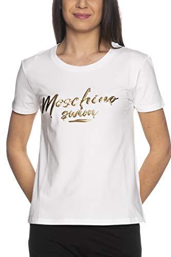 Moschino T Shirt Swim da Donna Bianca