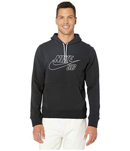 Nike Felpa Cappuccio Uomo SB Embroidery Hoodie Black L