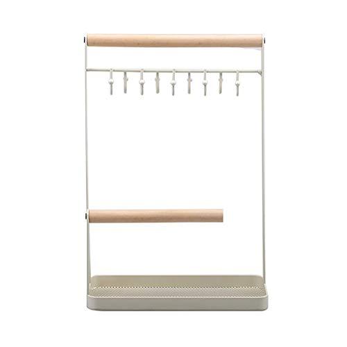 XUEXIU Support À Bijoux Bijoux Bijoux Rack Home Display Stockage Support Robuste Et Stable Vie Multi-Fonction Salle De Bijoux en Rack ANTIDÉRAPANTS Grande Capacité Bijoux Arbre Organisateur