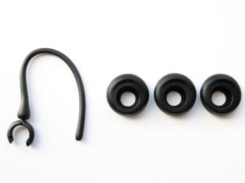 Schwarz Ergonomische Ohrstöpsel Satz for Jawbone Era Serie Bluetooth Headset