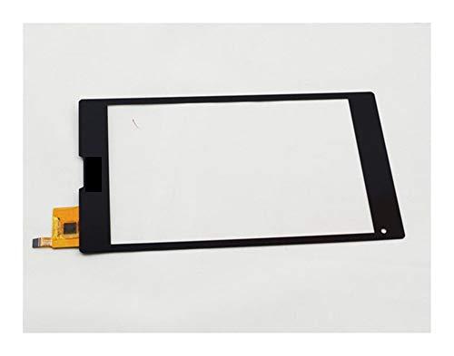 HUOGUOYIN Displayersatz 8 '' Fit für MEDION LIFETAB S8312 MD 98989 Touch Screen Panel-Digitizer Ersatzsatz für Reparatursatz (Color : Black)