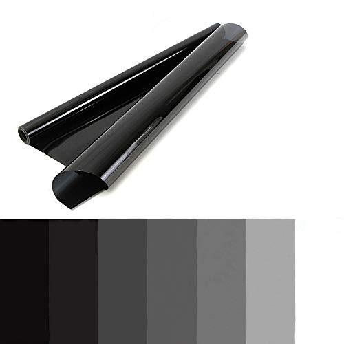 Alivier Film de Teinte adhésif de Protection UV de fenêtre de Voiture 50 * 300cm Film de Teinte 15% / 20% / 25% / 35% / 50% pour la Protection des Animaux domestiques et des bébés