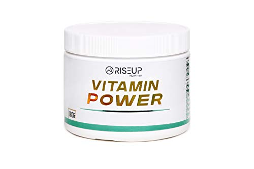 RiseUp Multivitamin Power Vitamin, Spurenelemente & Mineralien Pulver aus Obst & Gemüse I Superfood Powder