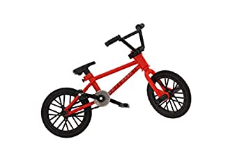 Spin Master BMX Finger Bike Series 13 WeThePeople - Replica Tech Deck Bike with Real Metal Frame Graphics and Moveable Tech Deck Parts for Flick Tricks Flares Grinds and Finger Bike Games - Red