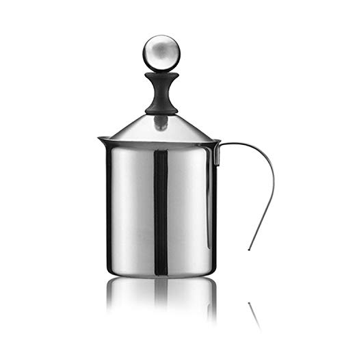 Cappuccino Japanese double layer stainless steel hand off the milk bubble milk bubbler