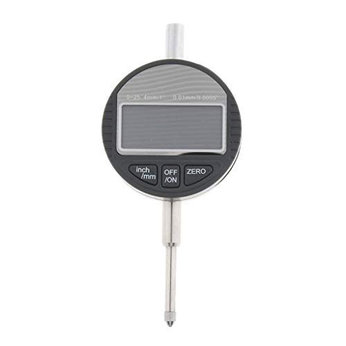 Tubayia 0-25,4mm / 1 Zoll Digitale Messuhr Messtaster Messinstrument für Mechanische, Labor