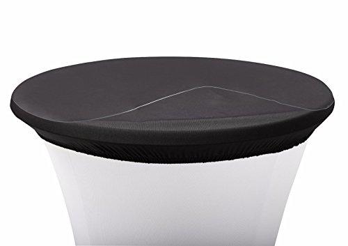 Babat Schutzplatte für Stehtische Durchmesser 58cm Stehtischhussen Abdeckplatte aus Kunststoff PVC