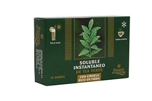 Compañía de las Indias, Té Verde Soluble - 10 Unidades