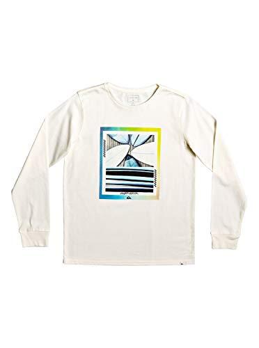 Quiksilver Tail Fin - Camiseta de Manga Larga para Niños 8-16 EQBZT04039