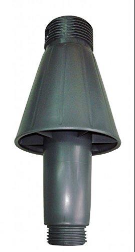 Sun Garden Ersatzteil Hülse (Standrohraufnahme ohne Verschraubung) für Ampelschirmständer anthrazit/grau