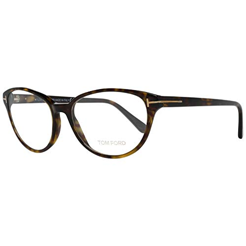 Tom Ford FT5422 53052 Tom Ford bril FT5422 052 53 ovaal brilmontuur 53, bruin