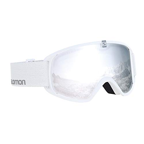 Salomon, Trigger, Kinder-Skibrille (11-14 Jahre), Weiß/Universal Super White, L40518100