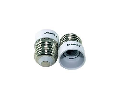 Ilab 1 adaptador reductor para bombillas de E27 casquillo grande a E14 casquillo pequeño