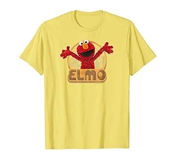 Sesame Street Elmo Iron On T Shirt T-Shirt