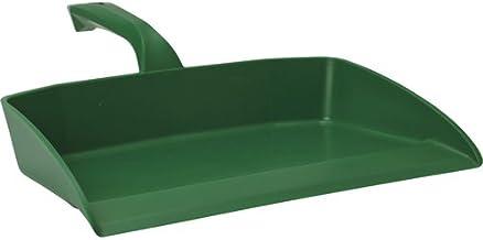 "Vikan 56602 Dust Pan, Polypropylene, 13-25/64"", Green"