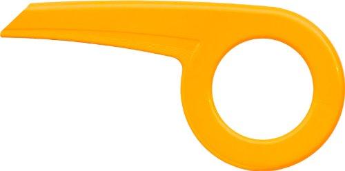 Fahrrad Kettenschutz Easy Line 194-3 gekürzt für 20 Zoll * gelb
