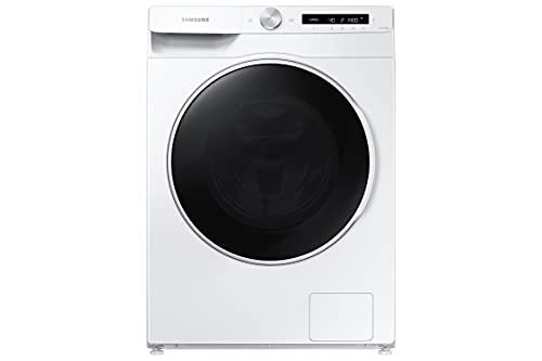 Samsung Elettrodomestico WD12T504DWW - Lavadora Ai Control, Front Load, 12 + 8 kg, color blanco