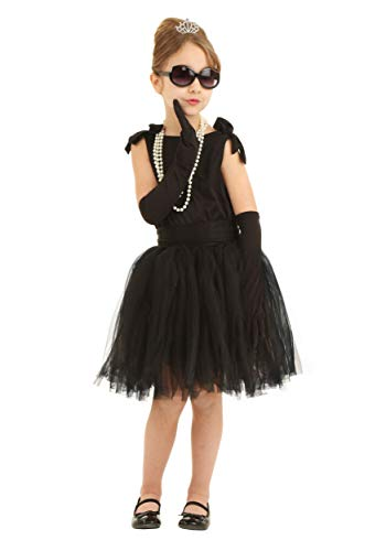 Child Breakfast at Tiffany's Holly Golightly Fancy Dress Costume Medium